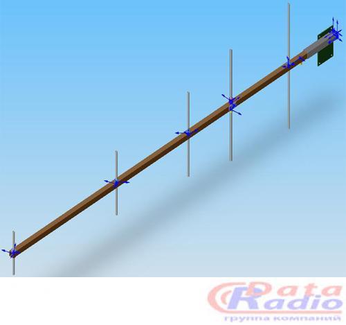 Антенна направленная Полярис 160-8 для  VHF рации или радиомодема